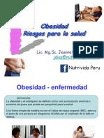 Obesidad Riesgos Para La Salud DISA LIMA ESTE Julio 2015