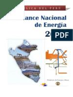 Balance Nacional de Energia 2015