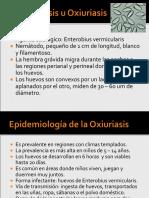 Enterobiasis u Oxiuriasis
