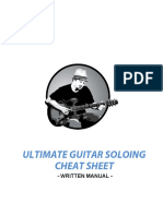 Gj Soloing Cheat Sheet