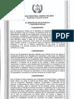Acuerdo Ministerial 154-2016