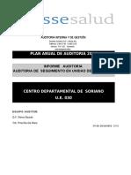 Auditoría Farmacia Soriano ASSE