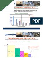 Tarifas de Generacion Electrica_Osinergmin