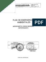 Plan de Emergencias Ambientales No Controlada