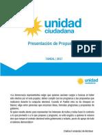 Unidad Ciudadana Tandil - Propuestas para la comunidad