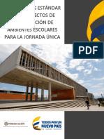 Lineamientos Estándar Para Proyectos de JORNADA ÚNICA