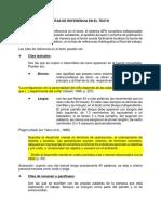 Modelo Editorial APA. Citas