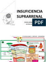 INSUFICIENCIA SUPRARRENAL internado