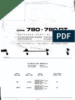Catalog Parti Componente Tractor Fiat-780-780DT