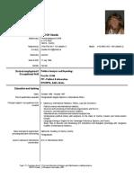Claudia Hirsch Europass CV