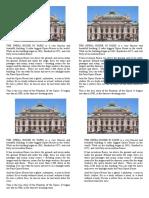 The Opera House in Paris