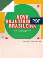 Nova Objetividade Brasileira - catálogo