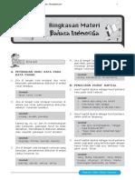 Ringkasan Materi Bahasa Indonesia US-UN SD