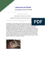 Amplificador de Audio Casero Con TDA2040