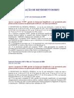 DECLARAÇÃO DE RENDIMENTOS - IRPJ