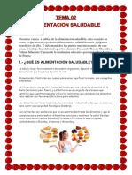 ALIMENTACION SALUDABLE .docx
