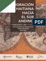 Migracion Haitiana Hacia El Sur Andino