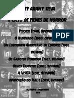 Cartaz Ciclo Filmes Horror