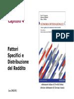 4 Fattori Specifici e Distribuzione Del Reddito Aa 12-13