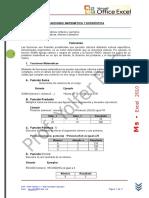 Clase Funciones Matemáticas y Estadísticas.doc