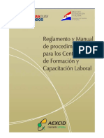 Reglamento Manual de Procedimientos Cfcl