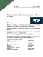 NCh0513-68 MATERIAS ORGANICAS DET. N.pdf