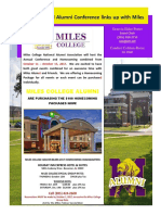 Miles Alumni Newsletter July 19 2017