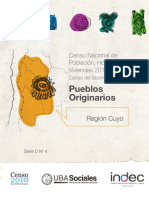Censo 2010 Pueblos Originarios CUYO