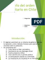 Triunfo Del Orden Autoritario en Chile