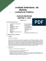 plan academico de la universidad salesiana