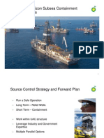 Deepwater Horizon Subsea Containment and Relief Wells PowerPoint