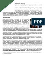 Ley de Protección Del Ambiente Sónico en Guatemala