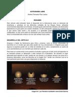 Astronomía Libre