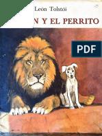 Leon Tolstoi. El León y El Perrito.