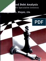 Distressed Debt Analysis- Moyer
