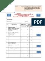 9. Riesgo de Auditoría-Evaluación C.I.