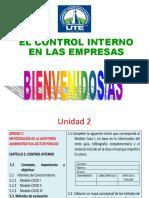 8. Control Interno y Métodos de Evaluación