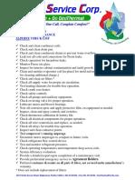 New Logo Checklist Flyer AC