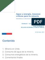 Cochilco, 2015-06-17 - Insumos críticos de la minería agua y energía ppt.pdf