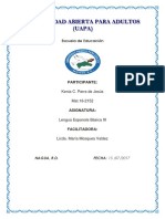 Kenia Lengua Espanola 3-2