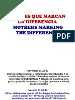 Madres Que Marcan La Diferencia