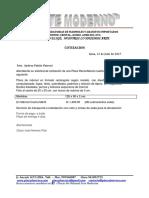 Cotizacion Placa (Usmp)130x90