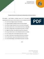 CP - Presidente Interino UPR Anuncia Rectores Interinos
