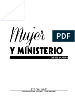 Mujer y Ministerio