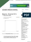 Masones - El Porqué de La Biblia en El Ara - Adaro Omar Daniel