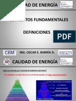 Definiciones de Calidad de Energía .Pptx
