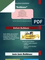 Peralatan Konstruksi - Bulldozer