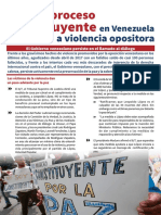 Avanza Proceso Constituyente en Venezuela Pese a Violencia Opositora