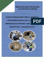 Monitoreo de Calidad de Aguas Resiuales y Rio Grande