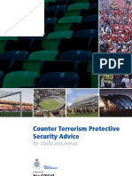 (Architecture eBook) Counter Terrorism Protective Security Advice for Stadium and Arenas